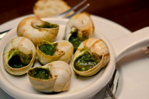 THE WORLD DEMAND FOR DISHES FROM SNAILS